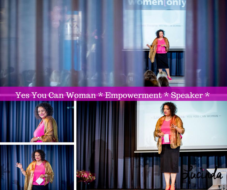 Lucinda Douglas is inspirerend spreker over empowerment