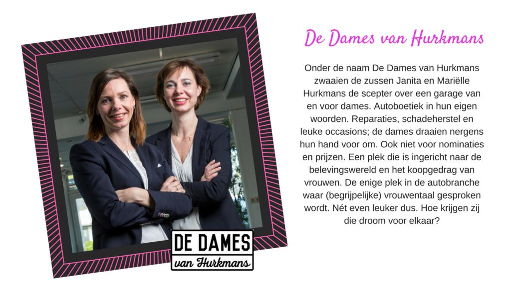 De Dames van Hurkmans bij Yes You Can Live Dream by Lucinda Douglas
