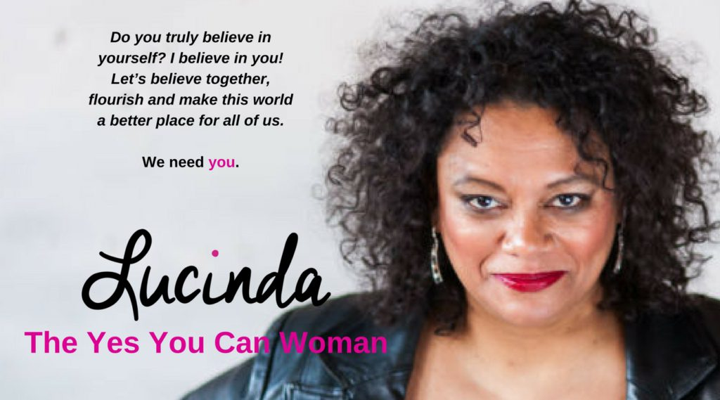 Lucinda Douglas is the Yes You Can Woman