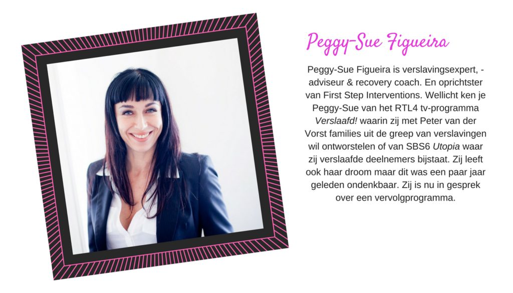 Peggy-Sue Figueira bij Yes You Can Live Your Dream met Lucinda Douglas