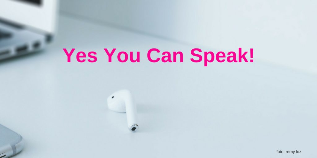 Yes You Can Speak! by Lucinda Douglas