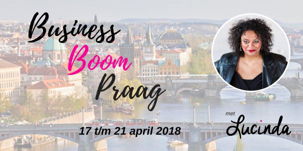 Business Boom Praag met Lucinda Douglas