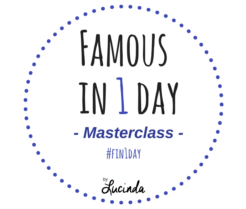 Masterclass Famous In 1 Day by Lucinda Douglas