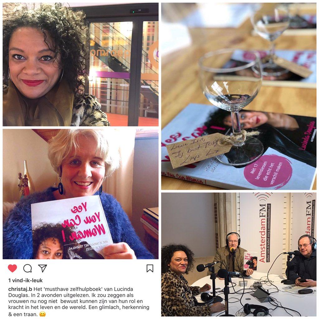 Boekpresentatie en promotie Yes You Can Woman autobiografie Lucinda Douglas Empowerment