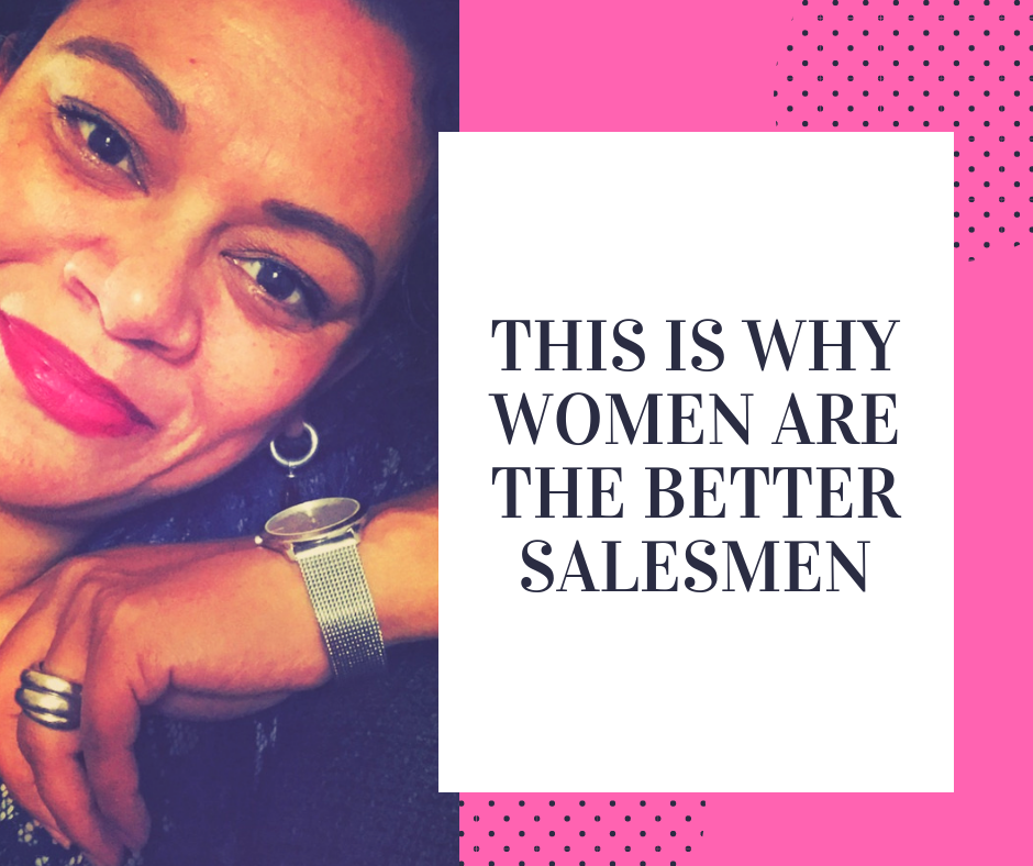 This is why women are the better salesmen - blog by Lucinda Douglas
