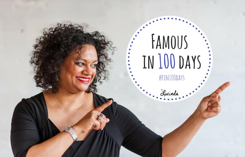 Famous in 100 Days met Lucinda Douglas