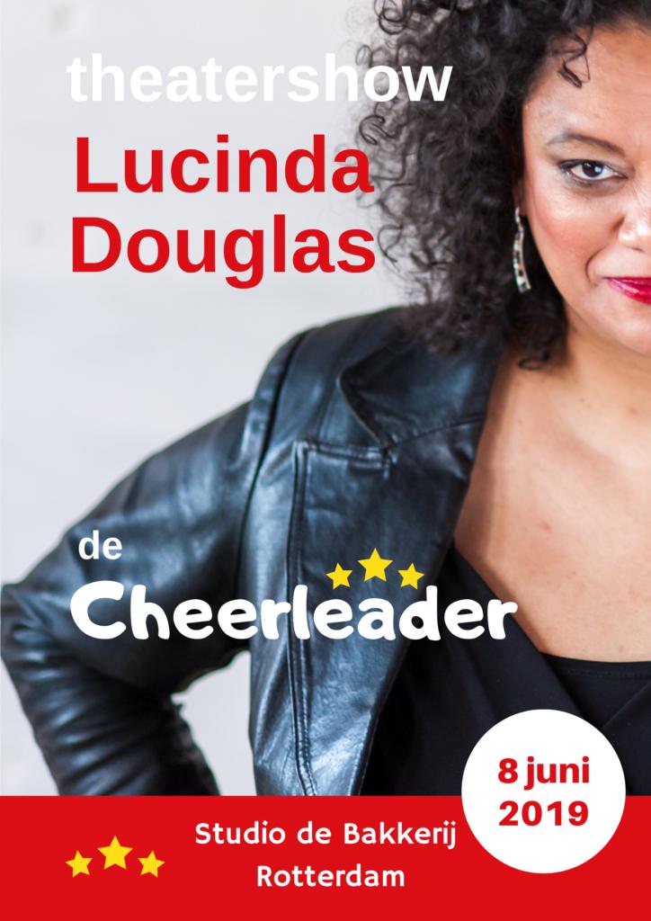 Theatershow de Cheerleader met Lucinda Douglas.