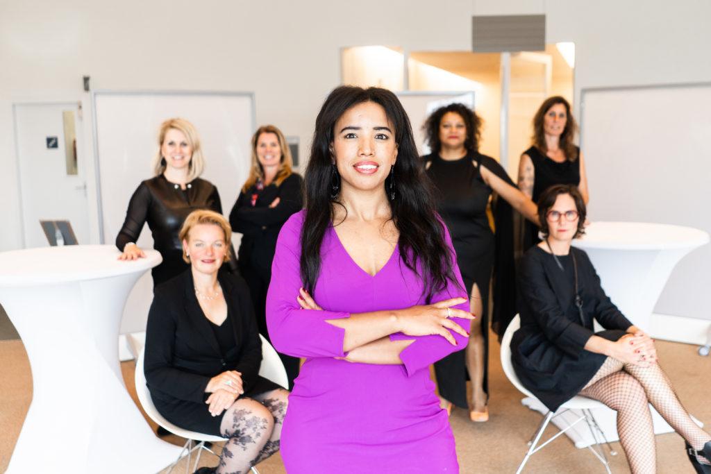 Latifa Barou is lid van ELLE Mastermind van Lucinda Douglas